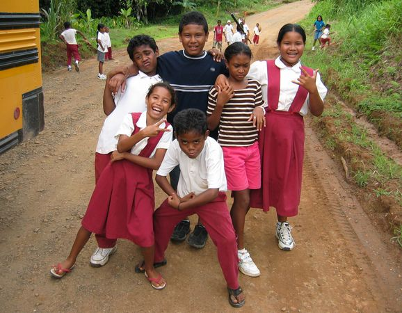 School Children of Palau 1
