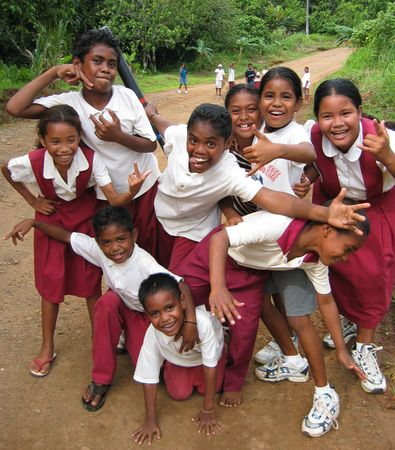 School Children of Palau 2