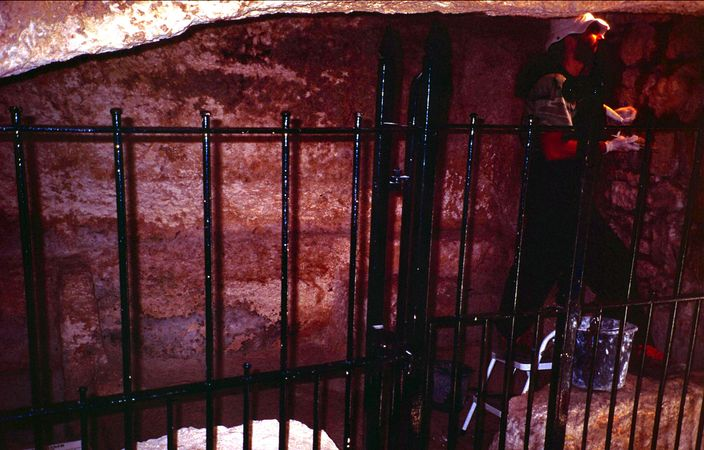 Garden Tomb in Jerusalem 3 - Possible alternative site of the tomb of Jesus