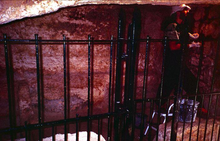 Garden Tomb in Jerusalem 3 - Possible alternative site of the tomb of Jesus